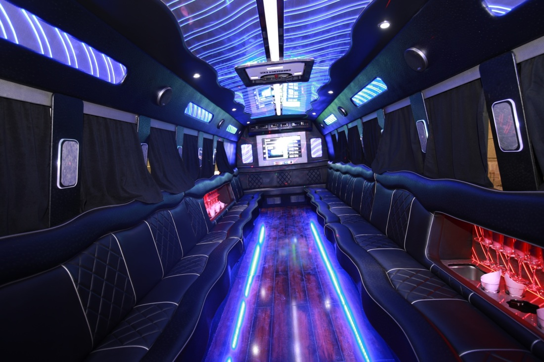 Rent A Party Bus In Phoenix